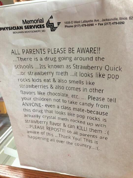 Parents Beware!